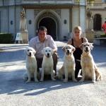 Tara, Colin, Scott és Ginny Ausztriában