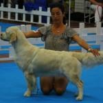 Mira and she's breeder, Maria
